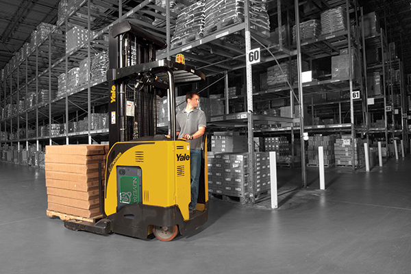 Yale-Nuvera Fuelcell forklift